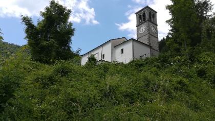 Kirche in Prossenicco – Südostansicht