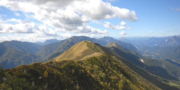 Blick nach Osten zum Mt. Chila