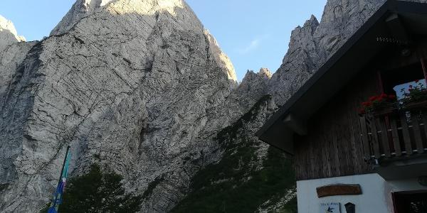 Blick vom Rif. Grauzaria zum C. della Sfinge