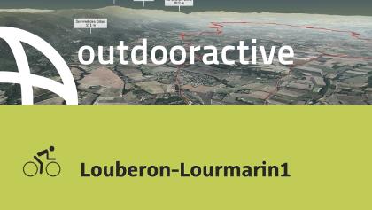 Rennradtour in Cucuron: Louberon-Lourmarin1
