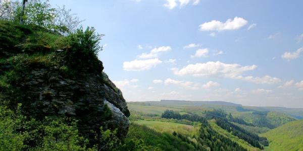 Burgruine Hunolstein in Morbach-Hunolstein
