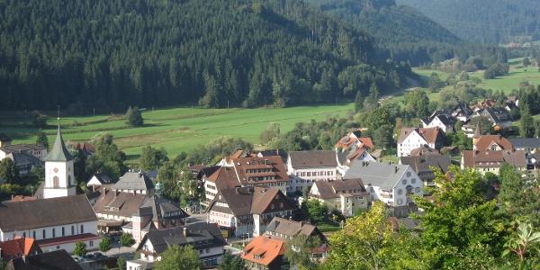 Ausblick auf Lenzkirch vom Sommerberg