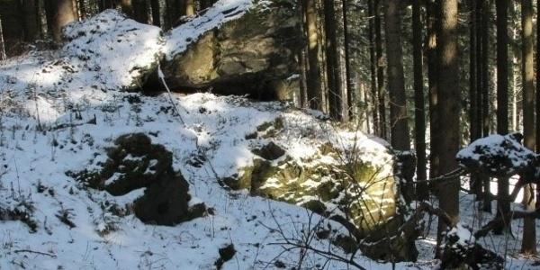 Luisenfelsen bei Falkenstein