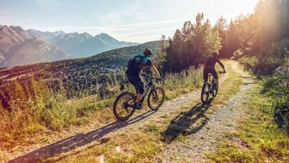 Mountainbike, Bürchen