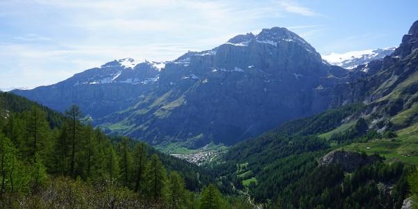 Loèche-les-Bains depuis Flüealp