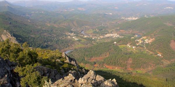 View from Cabeço Mosqueiro