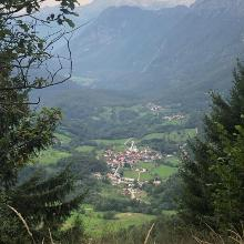 Blick auf Dreznica