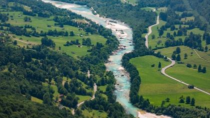Reka Soča, Volarje