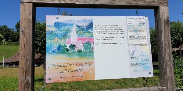 Am Start des Chrüterhäxli Lilli Gwonderwäg