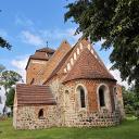 Alte Kirche in Bellin