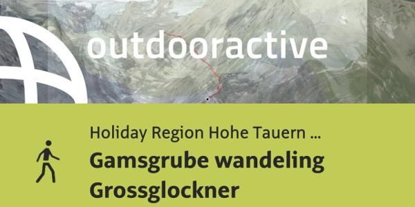 Dagwandeling in Holiday Region Hohe Tauern National Park: Gamsgrube wandeling Grossglockner