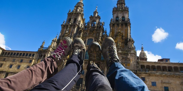 The magnificent Cathedral of Santiago de Compostela