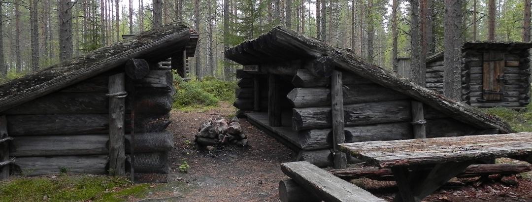 Uittomiesten parilaavu, Kilpelänkangas Kuhmo Finland