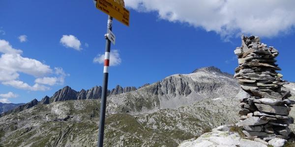 La Muotta - Ausblick nach Norden
