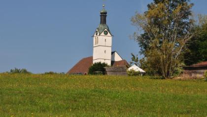 Blick auf St. Bartholomäus, die Kirche in Görwihl