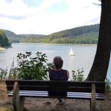 Rast am Hennesee