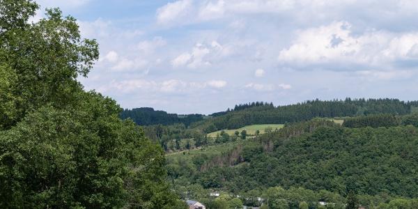 Ausblick auf Hellenthal