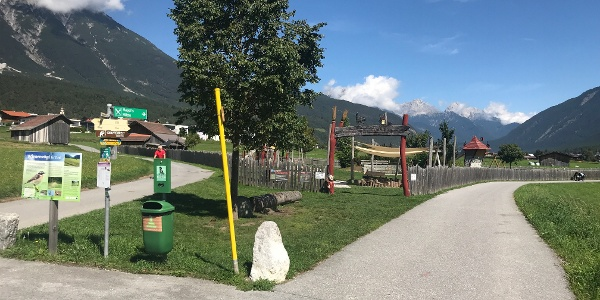 Kinderspielplatz in Tarrenz