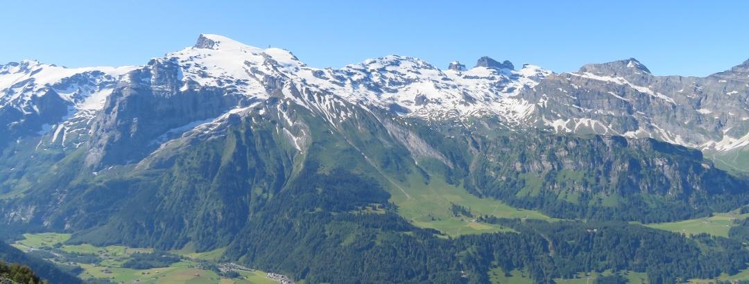 Bergpanorama Engelberg