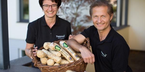 Familie Tappauf ist einer der Kren-Produzenten in Mettersdorf