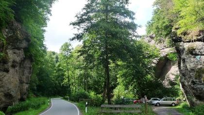 Das Tor zum Falkensteiner Tal