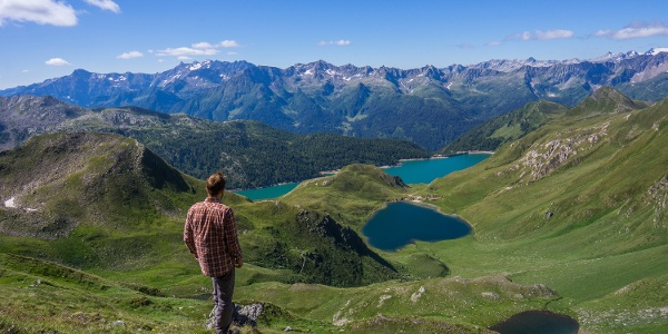 Piora Valley lakes