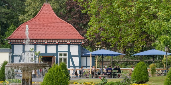 Lusthaus mit Schlossgarten