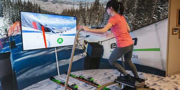 Elan Alpine Skiing Museum, Ski simulator
