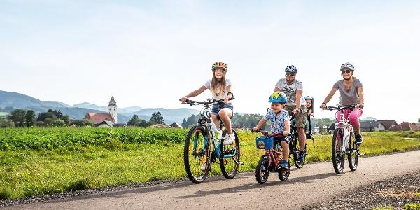 Radfahren im Melker Alpenvorland