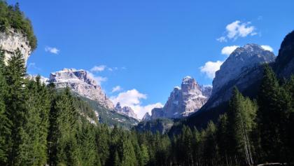 Val Brenta Dolomites View