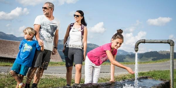 Familienwanderung in Schetteregg