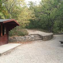 Lóczy-barlang bejárata