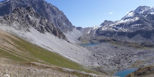 Blick vom Ela Pass Richtung Fuorcla Tschitta