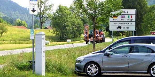 Start: Wanderparkplatz Geigelstein