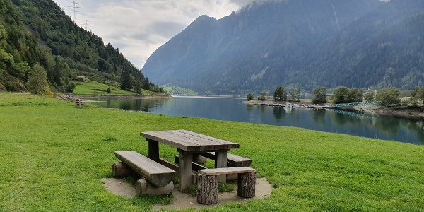 Picknickplatz am Lago Poschiavo