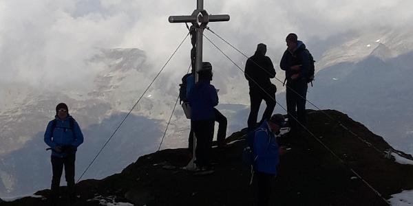 Gipfelkreuz Lenkspitze