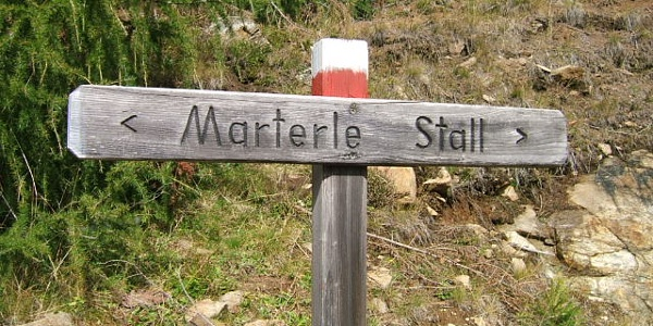 Wallfahrtsweg Stall - Marterle