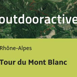 מסלול הליכה ארוך ברחבי Rhône-Alpes: Tour du Mont Blanc