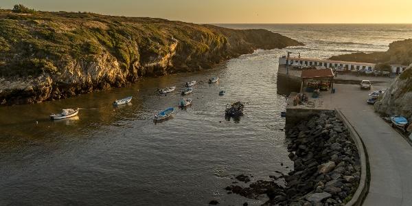 Porto Covo at Sunset