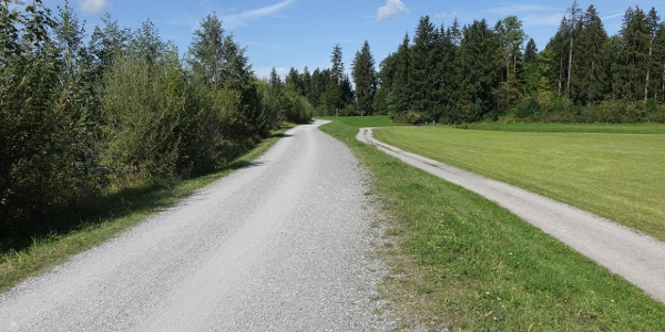 Illerdamm Richtung Unterthalhofen