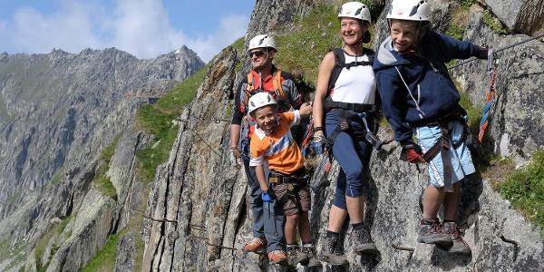 Klettersteig am Eggishorn