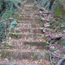 Treppen kurz nach dem Parkplatz