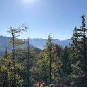 Blick zum Wolfgangsee und Dachstein