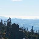 Fernsicht bis zum Dachsteingebirge vom Dreisesselberg