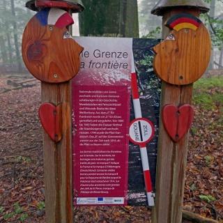 An der deutsch-französischen Grenze