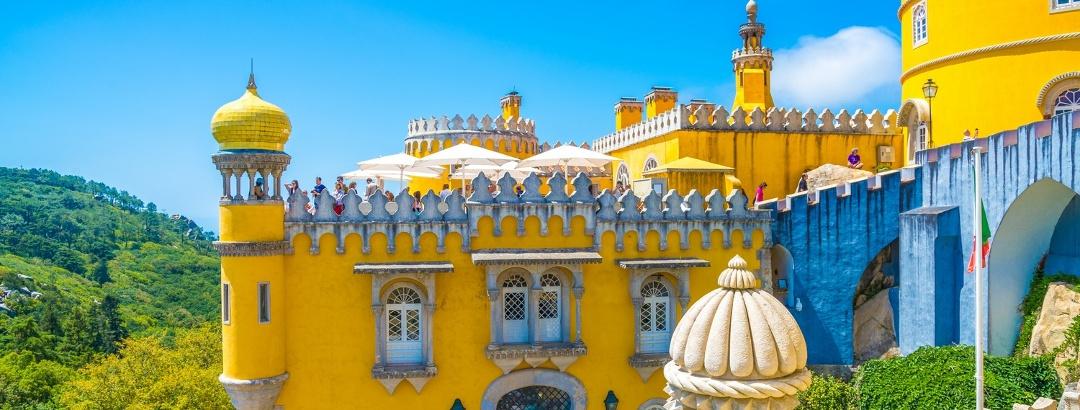 Colourful Pena Palace