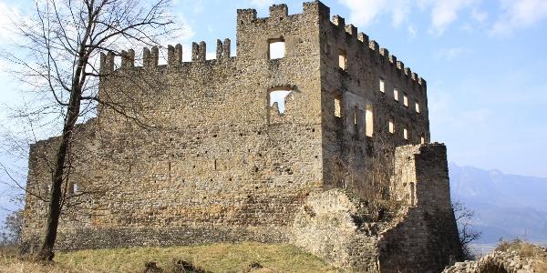 Die Burgruine Kaldiff