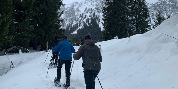Schneeschuhwandern in Gargellen