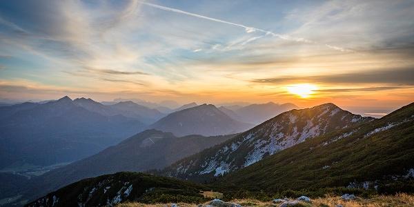 Aussicht vom Zwiesel-Gipfel