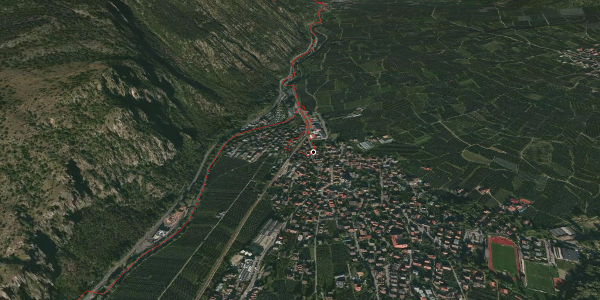 Mountainbike-tour im Vinschgau: KtI Latsch | St. Martin im Kofel | Propain Trail | Latsch